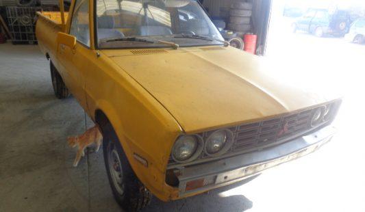 Mitsubishi L200 1980